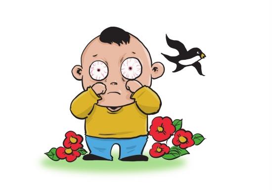 小儿红眼病的常见病因有哪些