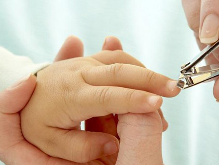 帮宝宝修剪指甲的工具