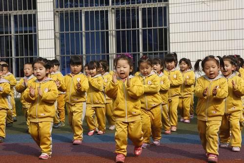 幼儿园广播体操 对宝宝健康的行为