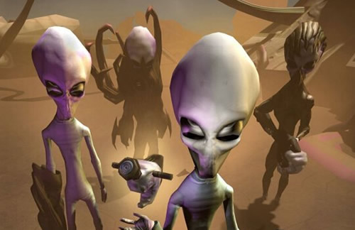 外星人之谜 世界难以解释的事情