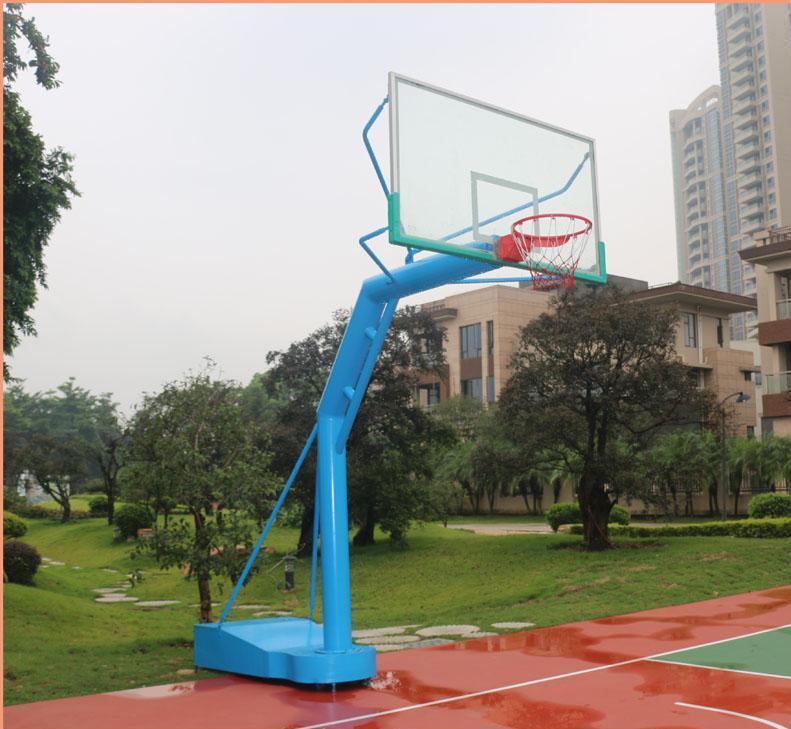 精致的浩然体育篮球架 5种不同的篮球架规格介绍