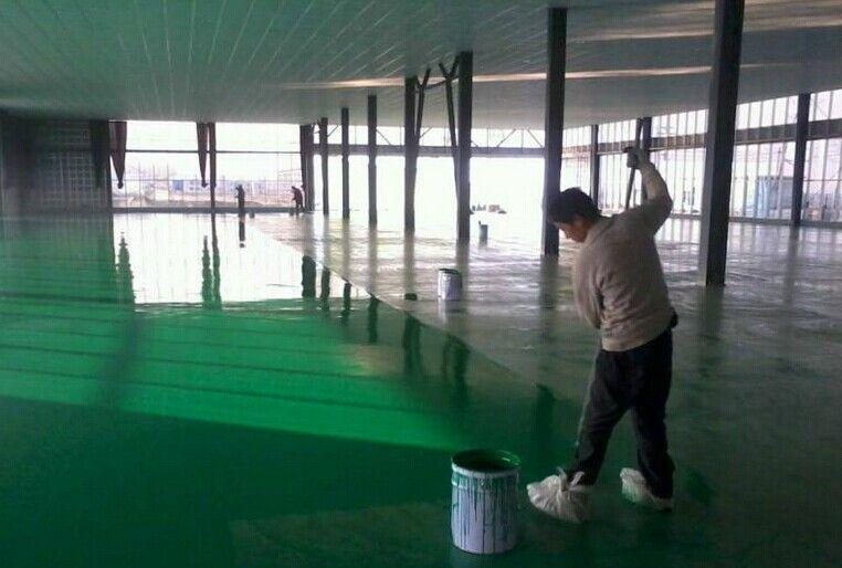 YEART雅涂地坪漆施工前进行基面处理的必要性