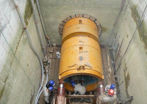 污水管道顶管施工