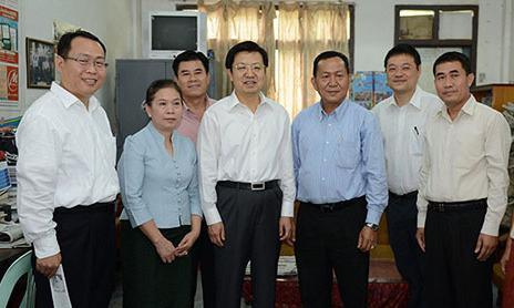 驻老挝大使