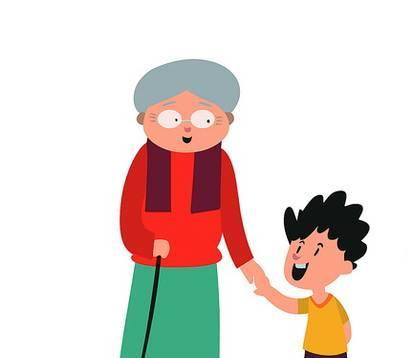 奶奶抱孙子打针表情同步,网友们忍俊不禁