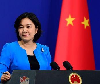 华春莹回怼日本记者,蔡英文不是总统